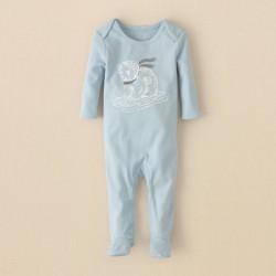 Детская пижама - слип ChildrensPlace, хлопок, 0-3 мес.