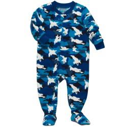 Пижама - слип OshKosh (Carter's), флис, 5 лет