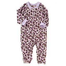 Детская пижама - слип Crazy8, флис, 3-6 месяцев