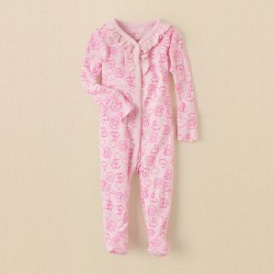 Детская пижама - слип на кнопках ChildrensPlace, хлопок, 3-6 мес.