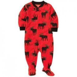 Пижама - слип Carter's, флис, 3 года