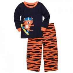 Детская пижама Carter's, флис+хлопок, 5 лет