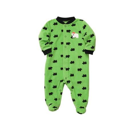 Пижама - слип Carters, флис, размер Newborn (новорождённый)
