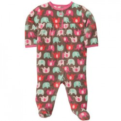 Пижама-слип Carters, флис, 6 мес