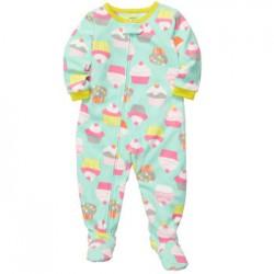 Пижама-слип Carters, флис, 4 года