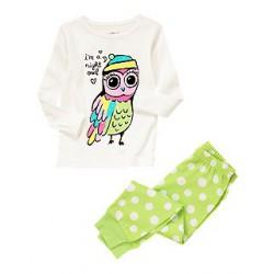 Детская пижама Crazy8, хлопок, 3 года