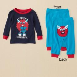 Детская пижама ChildrensPlace, хлопок, 5 лет