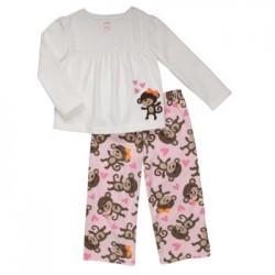 Детская пижама Carter's, флис, 2 года