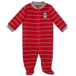 Детская пижама-слип Carter's, флис, 0-3 мес.